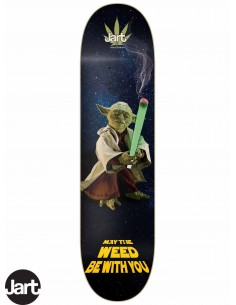 JART Skateboards Weed Nation Yoda 8.0