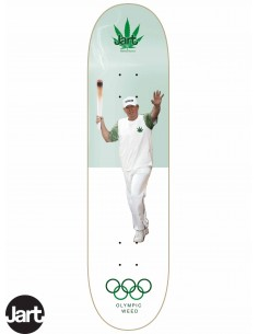 JART Skateboards Weed Nation Olimpic Weed 8.25