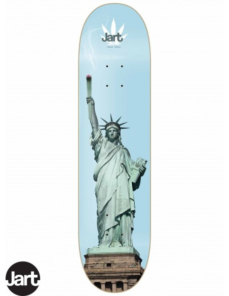 JART Skateboards Weed Nation Liberty 8.375
