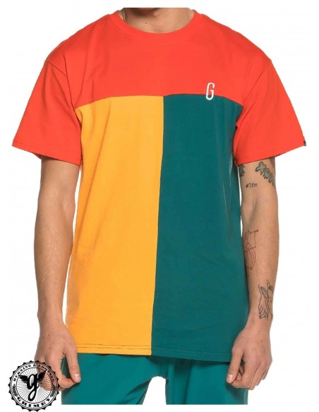 Grimey Midnight Tricolor Tee