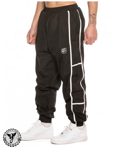 Grimey Bricks Top Track Pants Negro