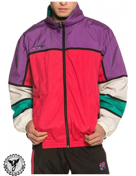 Grimey Brick Top Track Jacket Morado