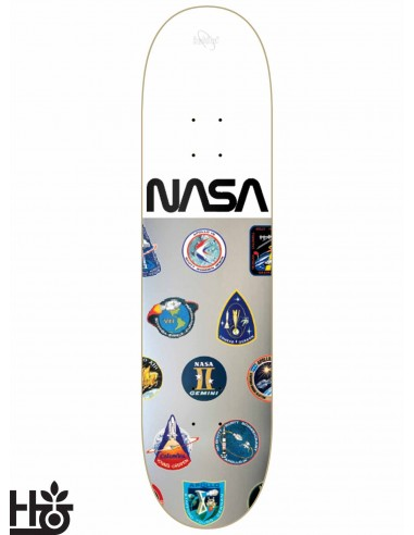 Habitat Skateboards NASA Silver White 8 0 Skateboard Decks