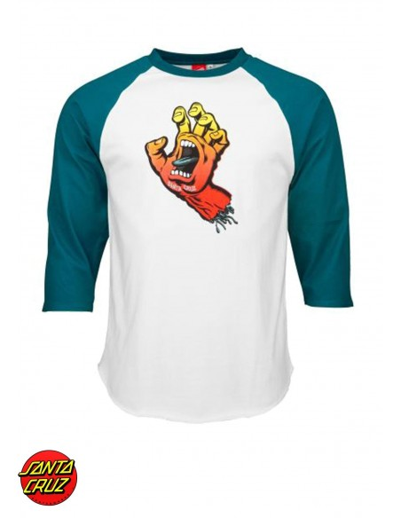 Santa Cruz Fade Hand BaseBall Top
