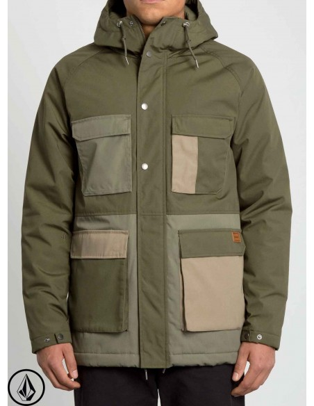Volcom Renton Winter 5K Army Green