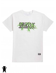 Grizzly Seed Stamp White