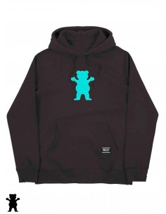 Grizzly Griptape OG Bear Hoodie Negro