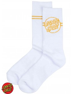 Santa Cruz Opus Dot Stripe Heather Socks