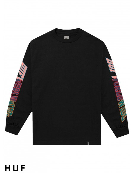 T-Shirt Manches Longue HUF Suspension Classic Black