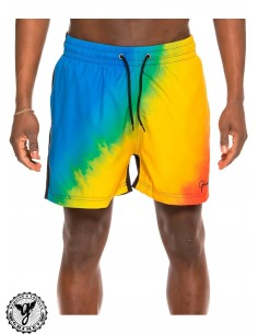 Grimey Laughing Boy Blue Boardshort