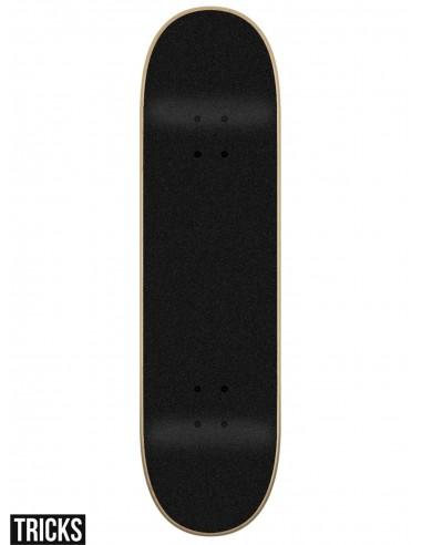 7.75/'/' x 31.6/'/' Tricks Skateboards Skull Complete Skateboard