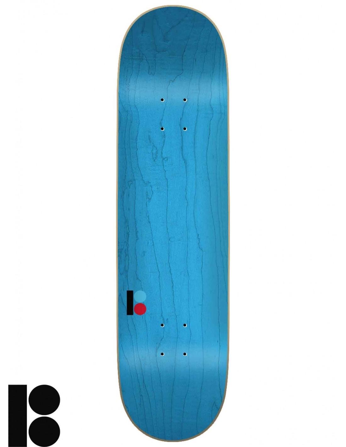 """Plan B Skateboard Deck Team 3D 7.75/"""" x 31.625/"""" with Grip"""