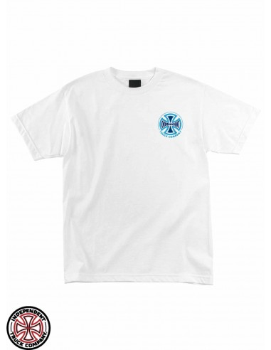 T-Shirt Independent Spectrum Truck Co. White