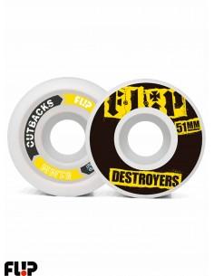 Ruote Skateboard Cutback 51