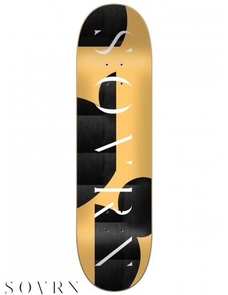 SOVRN Logo 07 8.0 Skateboard Deck