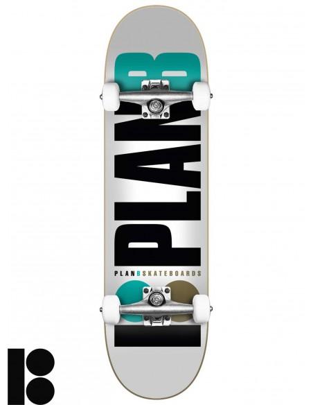 PLAN B Team Og 7.75 Skate completo