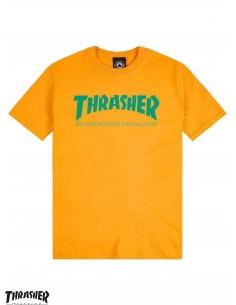 T-Shirt Thrasher Mag Yellow