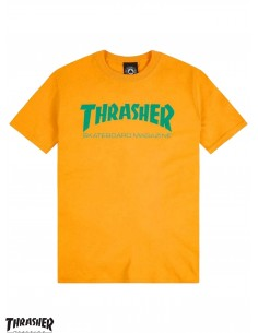 Thrasher Mag Yellow T-Shirt