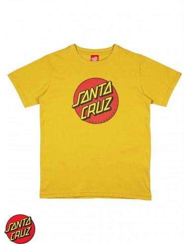 Santa Cruz Youth Classic Dot Yellow...