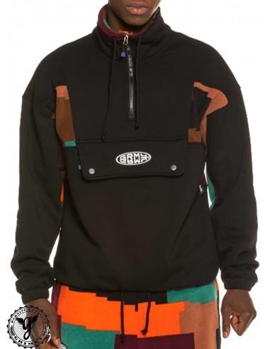 Grimey Dulce High Neck Black Sweatshirt