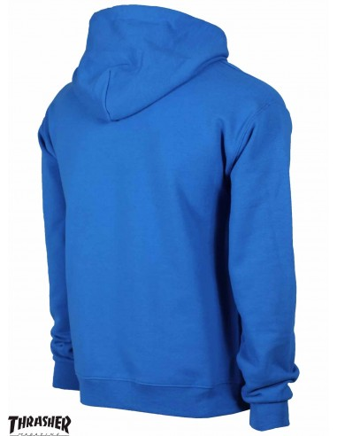Thrasher Flame Logo Royal Blue Hoodie