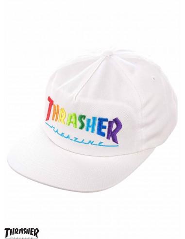 Thrasher Rainbow Mag Embroidered...