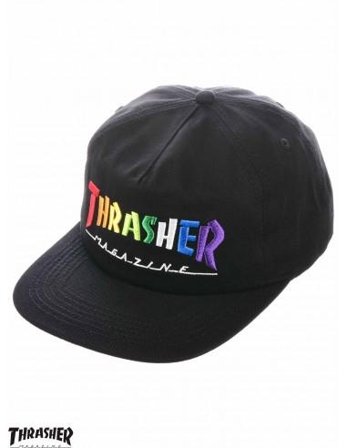 Thrasher Rainbow Mag Embroidered Cap