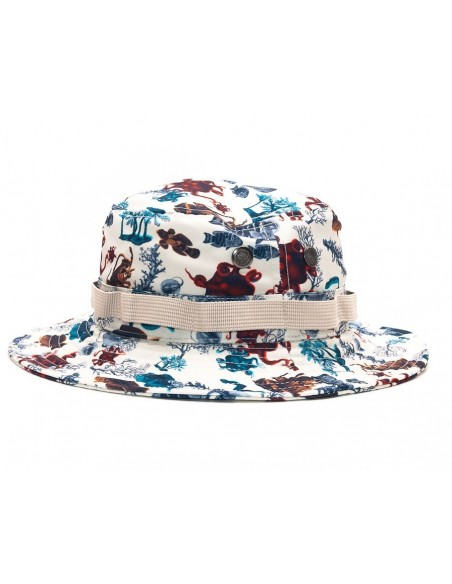 BUCKET HAT LRG UNDERWATER HIGH WHITE BOONIE HAT 1441c864fb9