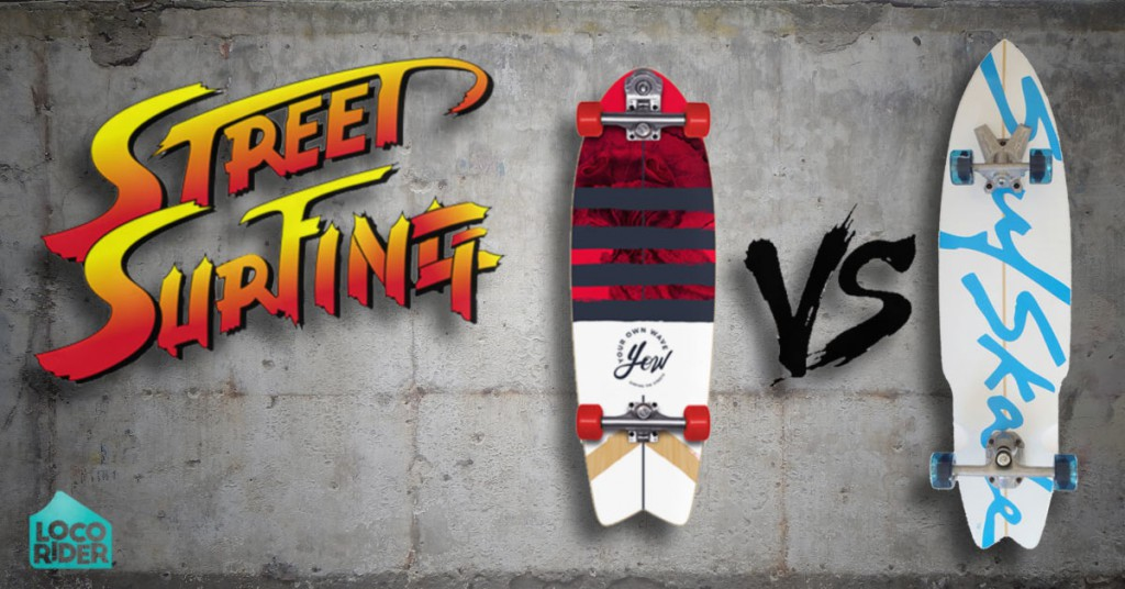 DIFERENCIAS ENTRE SURFSKATES: YOW Streetsurfing VS. Surfskate Industries
