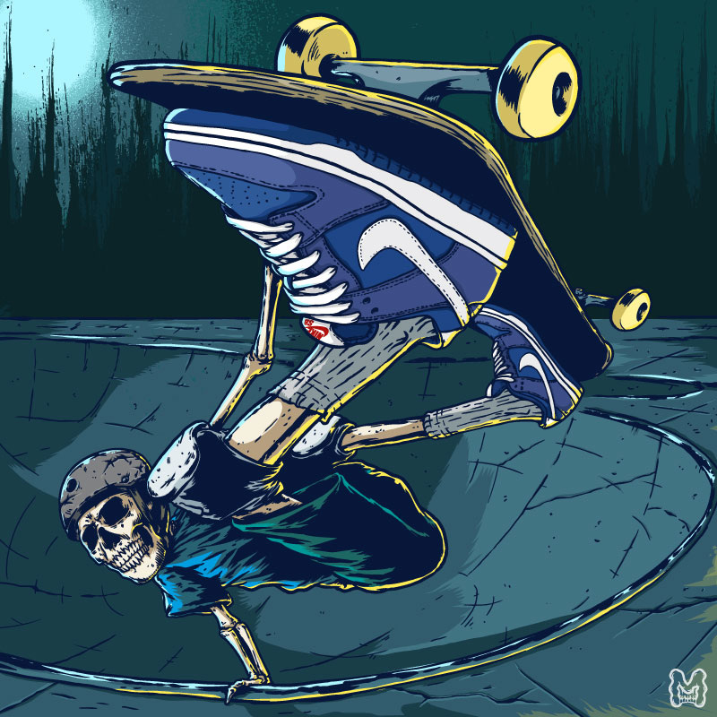 Marcos Cabrera Ilustrador De Jart Y Cruzade Skateboard