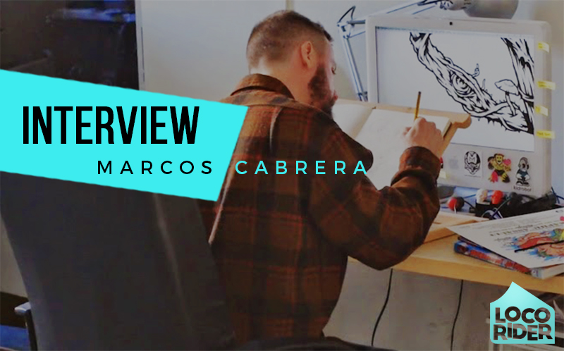 Interview with illustrator Marcos Cabrera