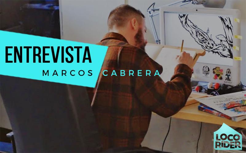 Entrevista al ilustrador Marcos Cabrera