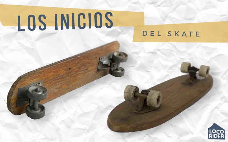 Primeros ejes de skate
