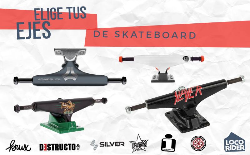 Elegir ejes de skateboard