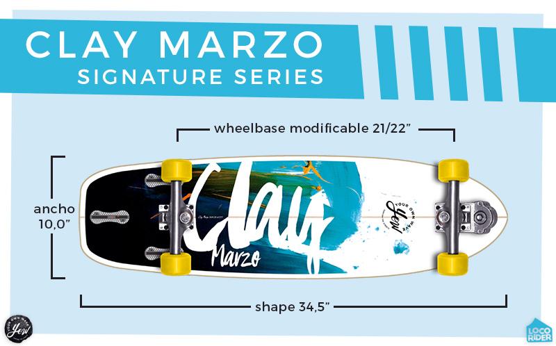 Comprar YOW Surfskate Clay Marzo