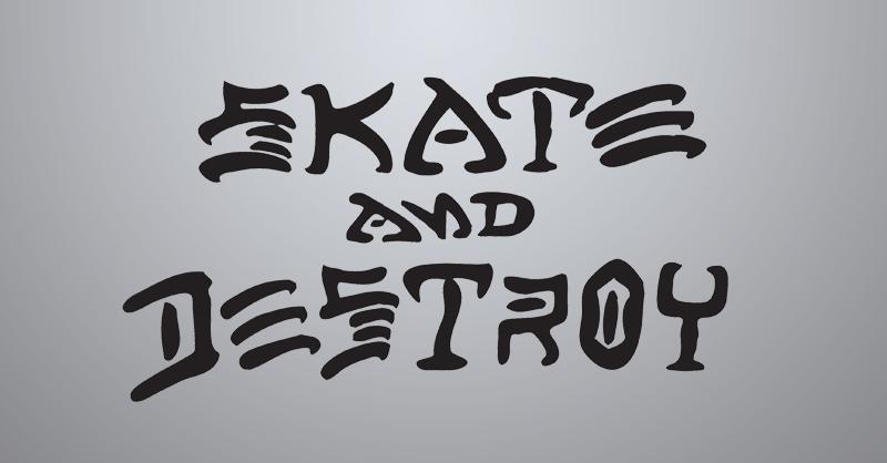 logo Skate & Destroy