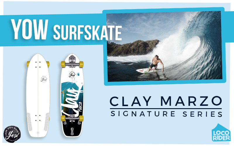 Clay Marzo YOW Street Surfing