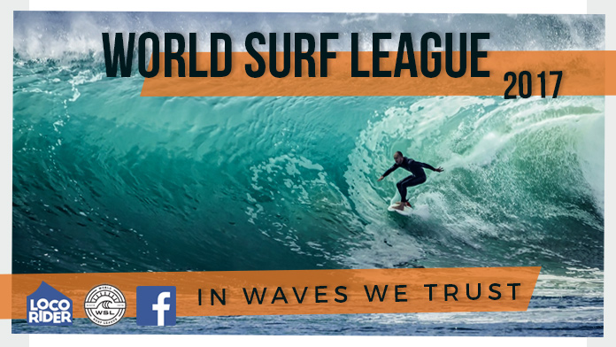 Comienza el World Surf League 2017