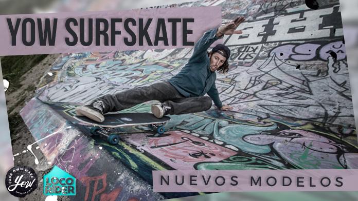 Nuevos modelos y un Limited Edition de YOW Surf