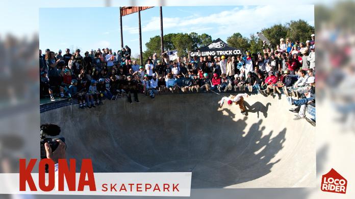 skatepark KONA multitud en bowl de kona