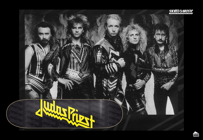 Skate&Music JUDAS PRIEST