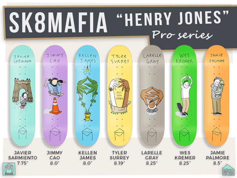 SK8Mafia Henry Jones