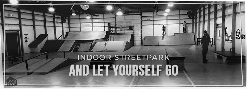 elegir skate de street para skatepark interior de street