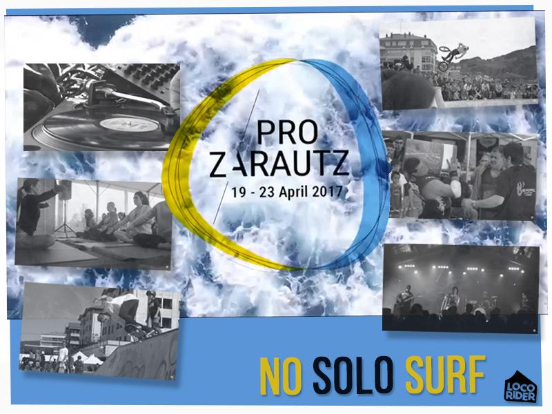 Actividades del Campeonato Mundial de Surf Zarautz PRO 2017 no es solo surf