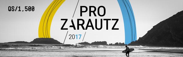 banner Campeonato Mundial de Surf Zarautz PRO 2017