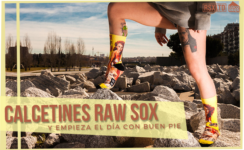 calcetines raw sox