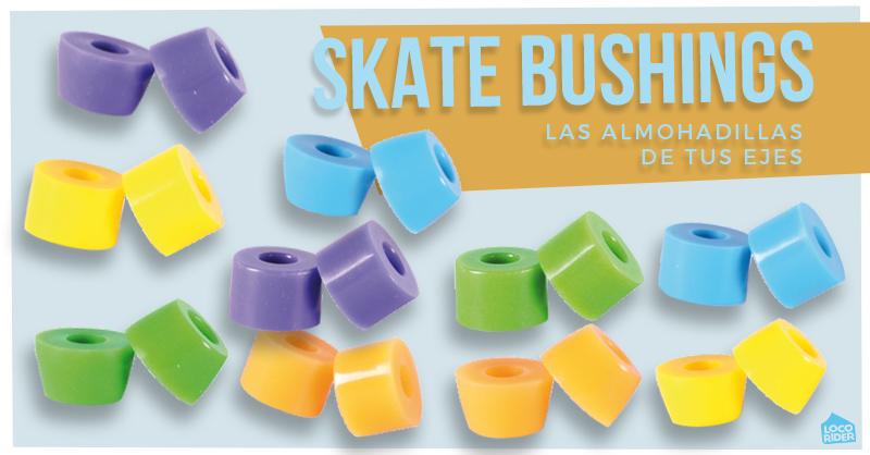 Bushings de skate. Las almohadillas de tus ejes