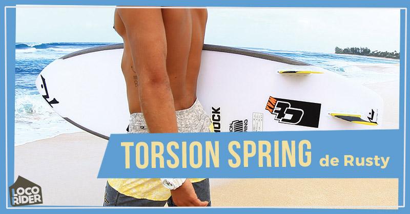Tecnología Torsion Spring de Rusty Surfboards